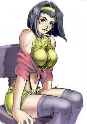 faye valentine colors by beamer