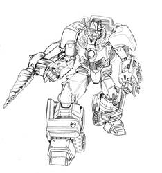 Transformers Beast Wars Uprising: Jawbreaker by beamer
