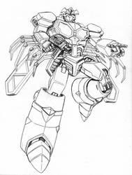Transformers Beast Wars Uprising: Bigmos by beamer