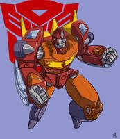 G1 Rodimus Prime by beamer