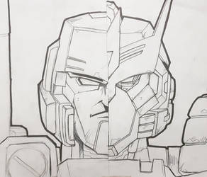 Megatron - Tarn sketch by beamer