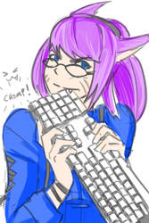 FFXIV: Miqo'te Tech Support by beamer