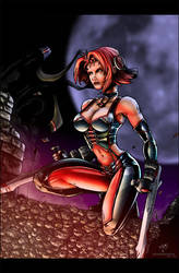 bloodrayne in color by beamer