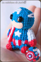 Captain America Amigurumi by cristell15