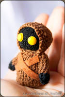 Jawa Amigurumi (Star Wars) by cristell15