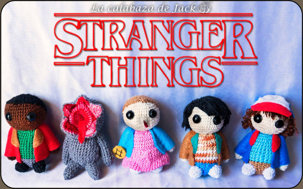 Stranger Things Amigurumi by cristell15