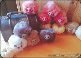 Harry Potter Pygmy Puffs by cristell15