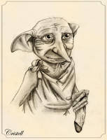 Dobby (Harry Potter) by cristell15