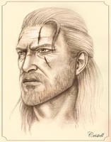 Geralt of Rivia by cristell15