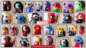 Marvel Amigurumis by cristell15
