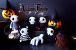 Addams Family Amigurumis by cristell15