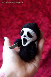 Scream Amigurumi by cristell15