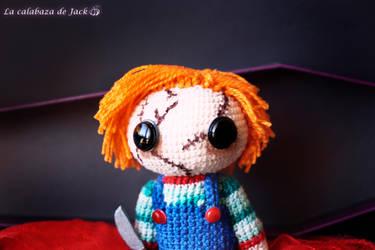 Chucky Amigurumi by cristell15