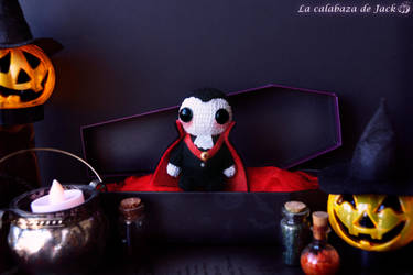 Dracula Amigurumi by cristell15