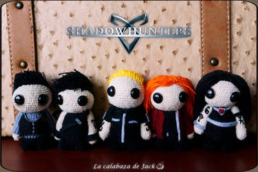 Shadowhunters amigurumi by cristell15