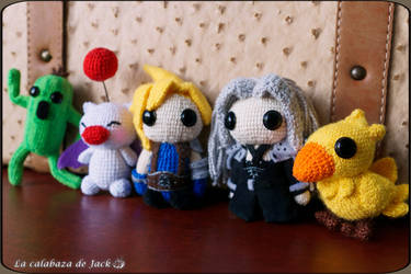 Final Fantasy Amigurumi by cristell15