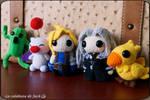 Final Fantasy Amigurumi by cristell15