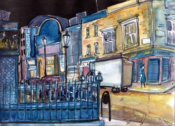 Notting Hill Night by SiberianLizard