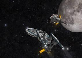 Star Trek: Enterprise NX-01 (Alternative, clean) by The-Argonaut