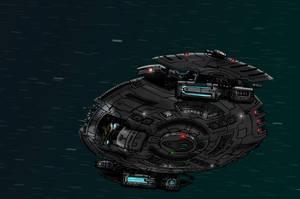 Experimental Clipper-Class Starship by The-Argonaut