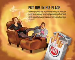 Retro Sexist Ad by Bunnyleigh