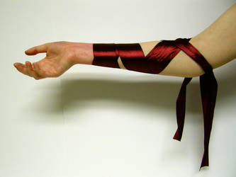 Ribbon Arm Stock2 by NoxieStock
