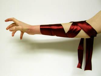 Ribbon Arm Stock5 by NoxieStock