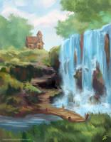 Waterfall Lodge by Edarneor