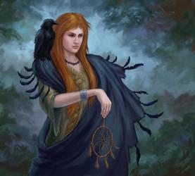 Raven Witch by Edarneor