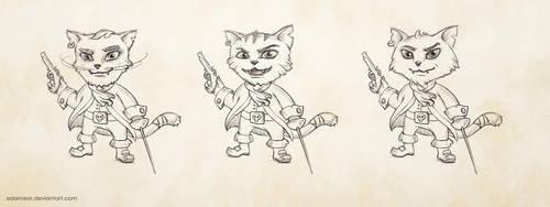 Pirate cat by Edarneor