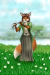 Bone Flute by wdeleon