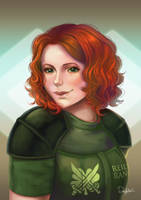 [PC] Josianna | Vault44 by PeachyProtist