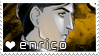Enrico stamp by PeachyProtist