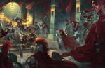 Attack on the Crimson liesetiawan paizo by LieSetiawan