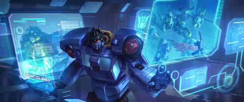 Transformer Doublespy by LieSetiawan