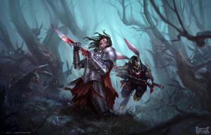 Herofall Key Art liesetiawan by LieSetiawan