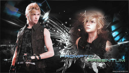Final Fantasy XV - Prompto by iVindictus