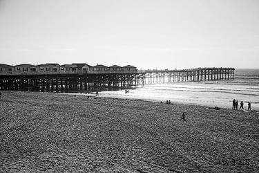 Old Time Photo Crystal Pier by Pale-Recluse