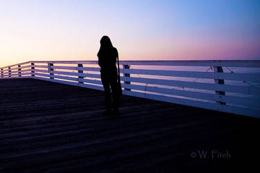 Pier Girl 1 by Pale-Recluse