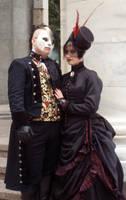 Ubergoth Phantom and Christine by Opergeist