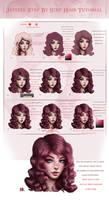 Curvy Hair Tutorial Step by Step by JePixel