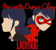 Dual Identities: Marinette and Ladybug by Tyeth