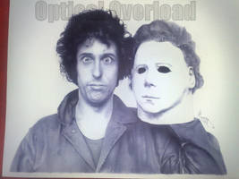 Nick Castle Portrait by lordp0rnstar