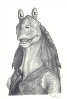 Jar Jar by lordp0rnstar