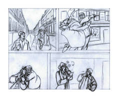 Sherlock,en allant chez Irene / Going from Irene by sophielegrand2013