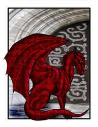 Red Dragon by MonkeyDragon