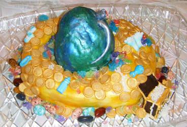 Dragon Egg Cake 1 by MonkeyDragon