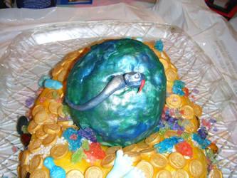 Dragon Egg Cake 2 by MonkeyDragon