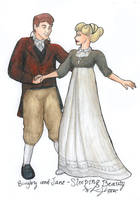 Sleeping Beauty - Jane-Bingley by Nebulan