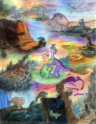 The Land Before Time by Nebulan
